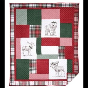 "50"" x 60"" Lennox Holly Throw"